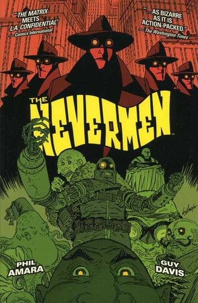 Nevermen Vol 01 TPB