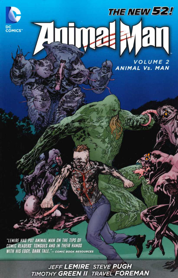 Animal Man [New 52] Vol 02: Animal vs Man TPB