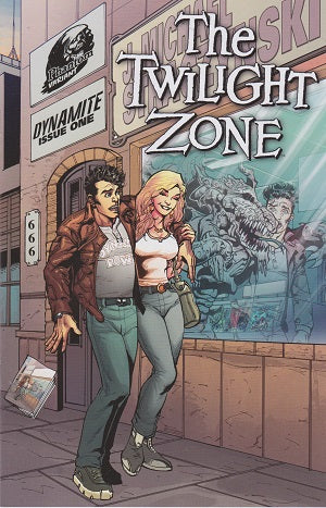 Twilight Zone (2014) # 1 Phantom Variant