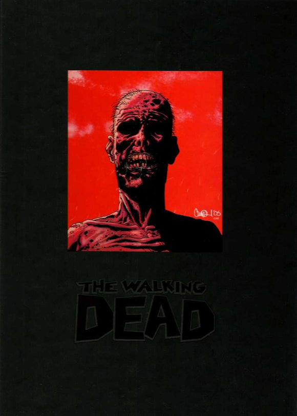 Walking Dead Deluxe Hardcover Slipcase Edition Vol 01