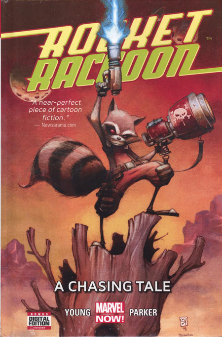 Rocket Raccoon Vol 1: A Chasing Tale (Hardcover)