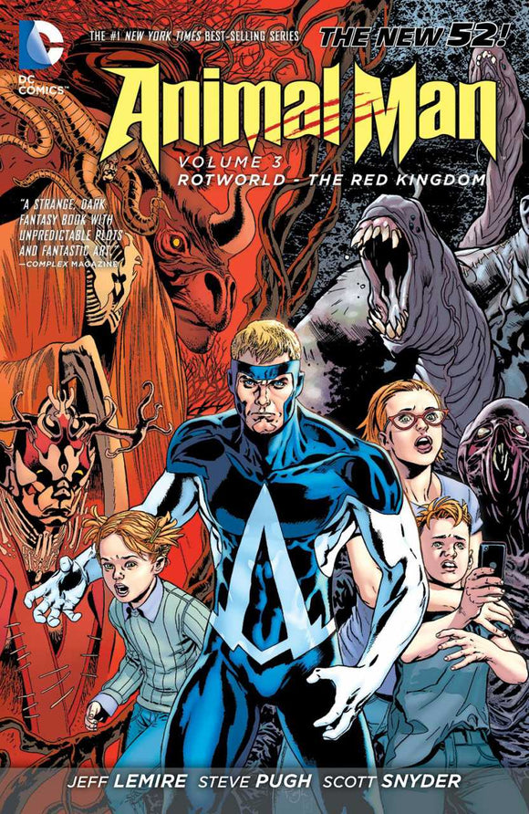 Animal Man [New 52] Vol 03: Rotworld - The Red Kingdom TPB
