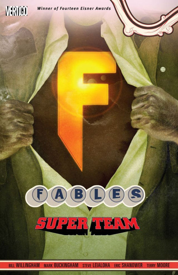 Fables Vol 16: Super Team TPB