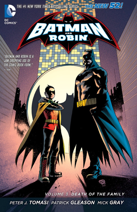 Batman and Robin Vol 03: Death of the Family TPB