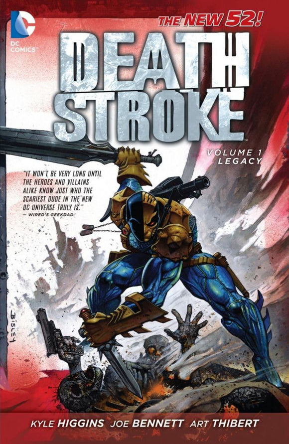 Deathstroke [New 52] Vol 01: Legacy TPB