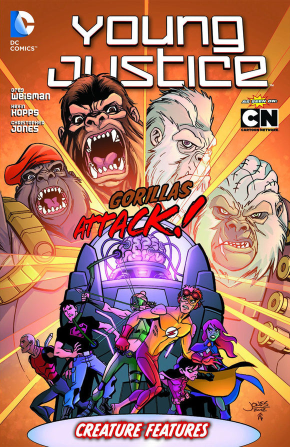 Young Justice Vol 03: Creature Features TPB