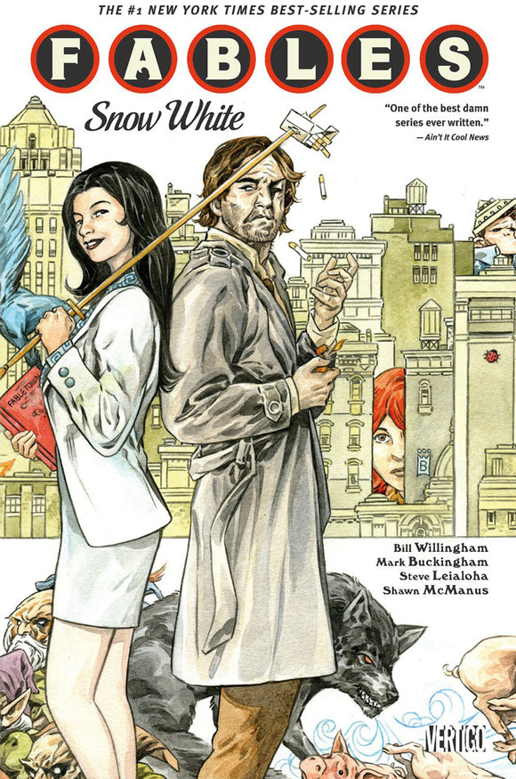 Fables Vol 19: Snow White TPB