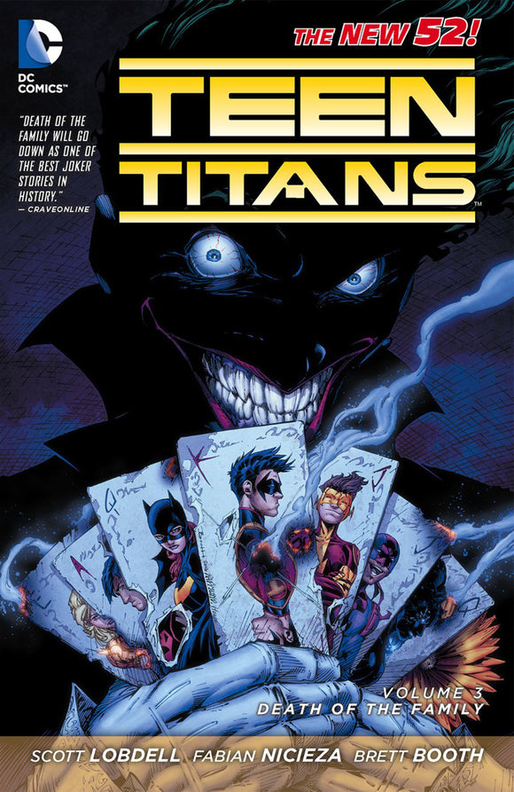 Teen Titans Vol 03: Death of the Family TPB