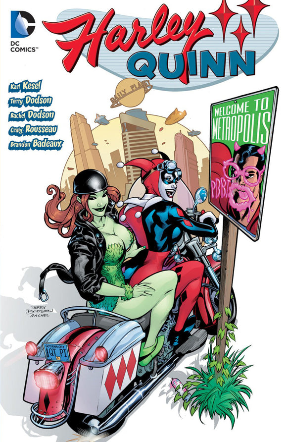 Harley Quinn [2000] Vol 03: Welcome to Metropolis TPB