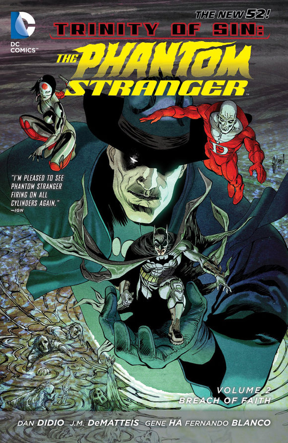Phantom Stranger Vol 02: Breach of Faith TPB