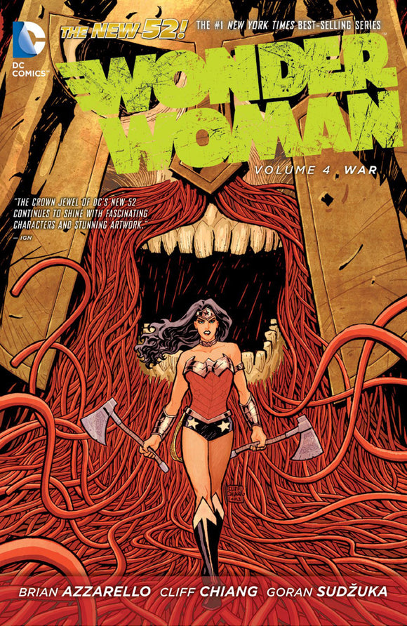 Wonder Woman Vol 04: War TPB
