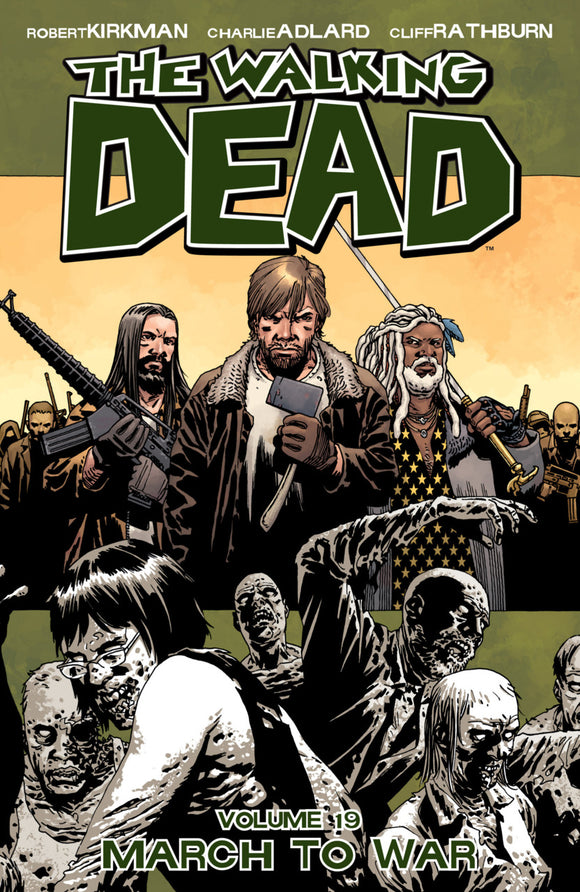 Walking Dead Vol 19: March to War TPB