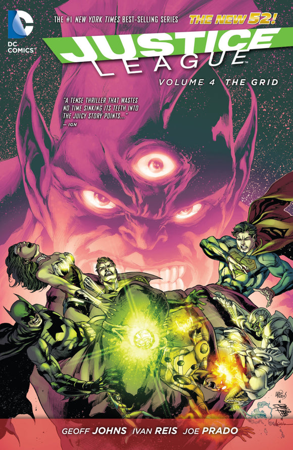 Justice League Vol 04: The Grid HC