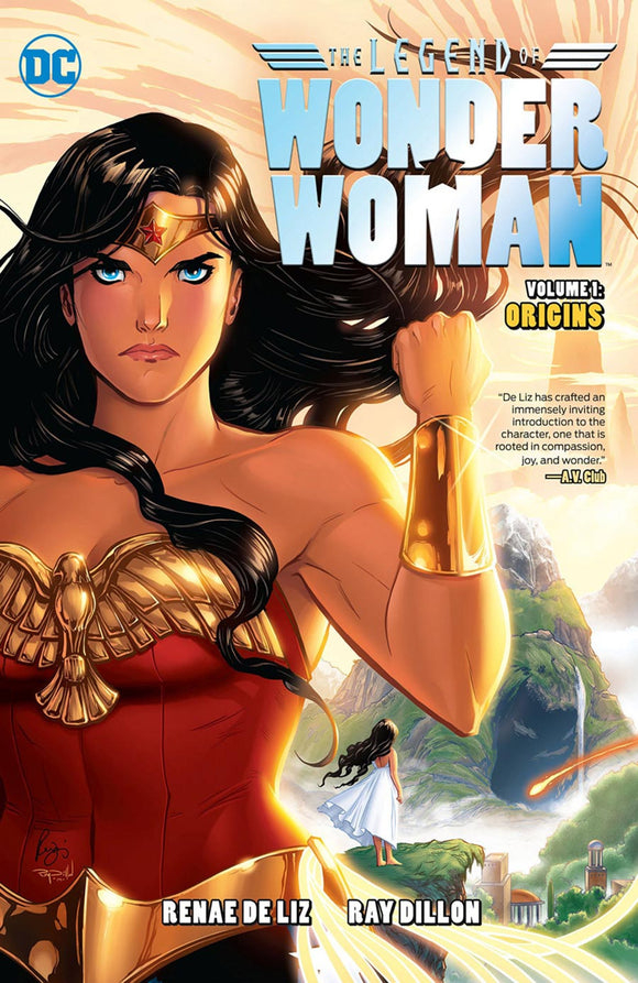 Legend of Wonder Woman Vol 1: Origins (Hardcover)