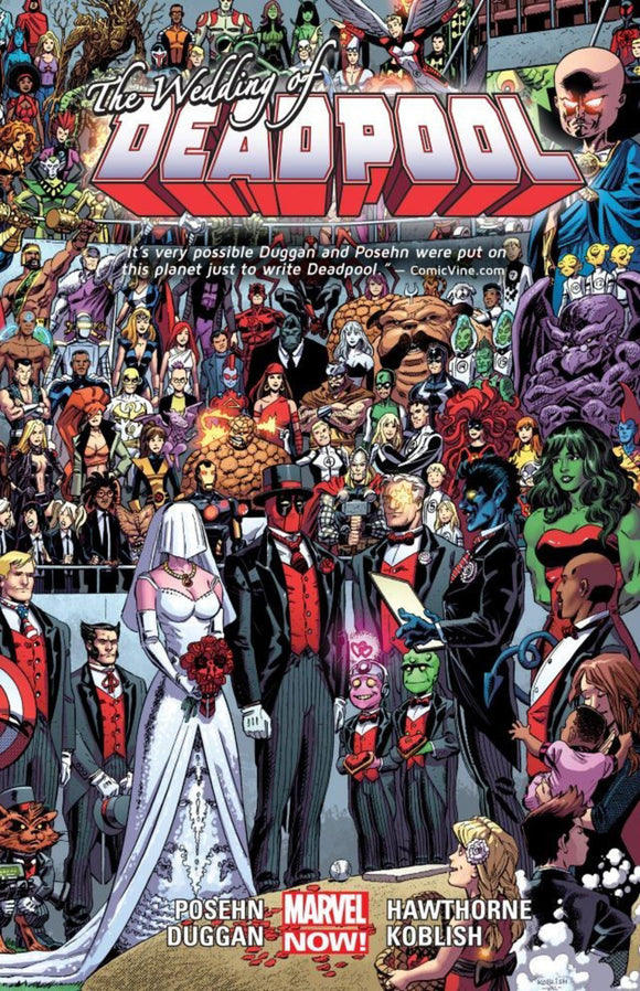 Deadpool Vol 05: The Wedding of Deadpool TPB