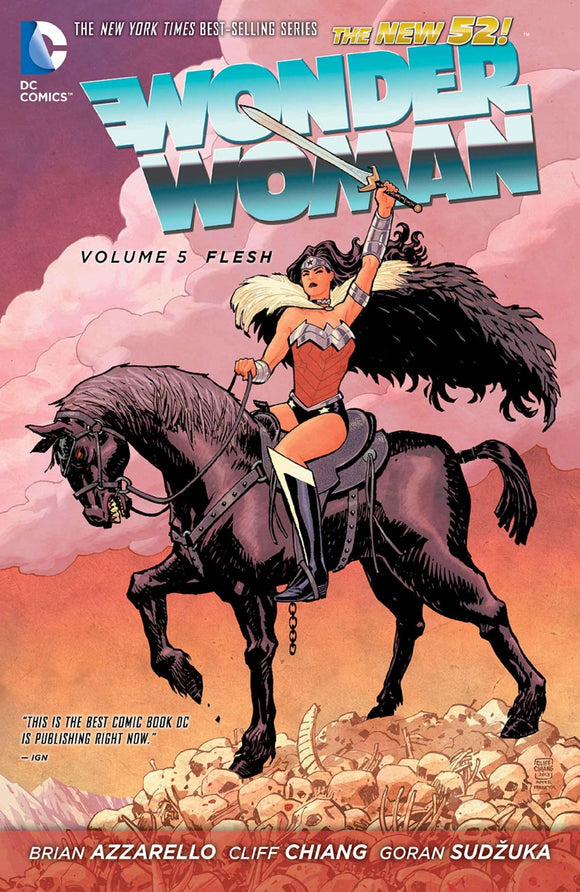 Wonder Woman Vol 05: Flesh HC
