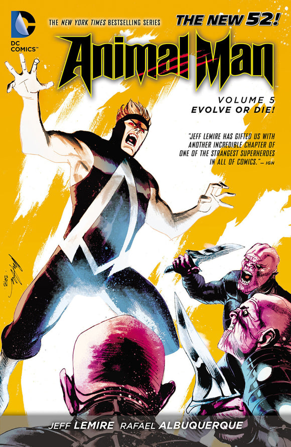 Animal Man [New 52] Vol 05: Evolve or Die! TPB