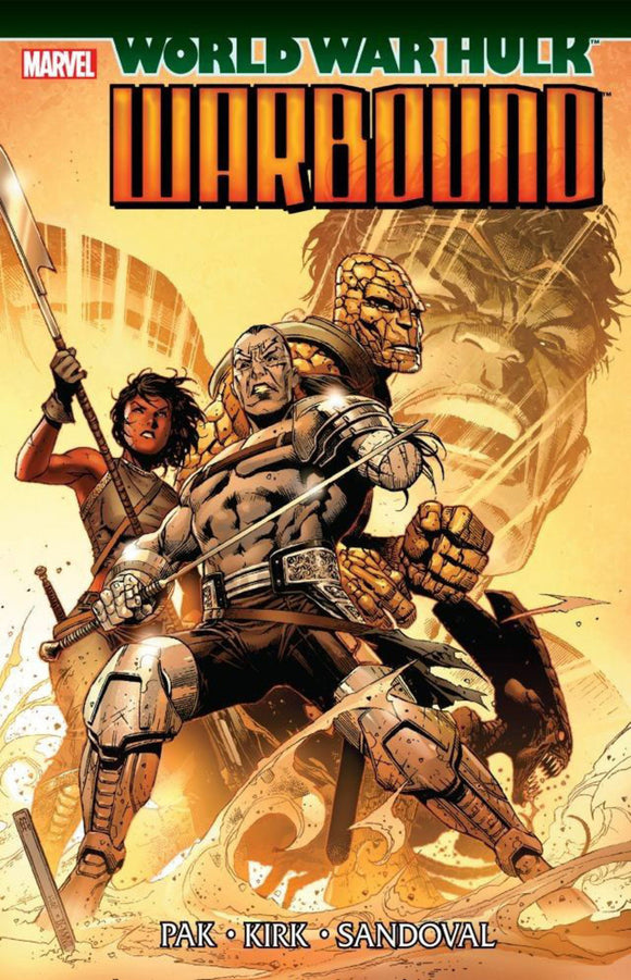 Hulk: World War Hulk-Warbound TPB