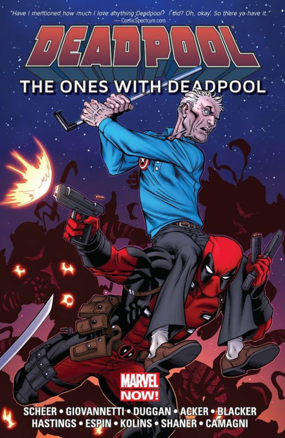 Deadpool: The Ones With Deadpool TPB