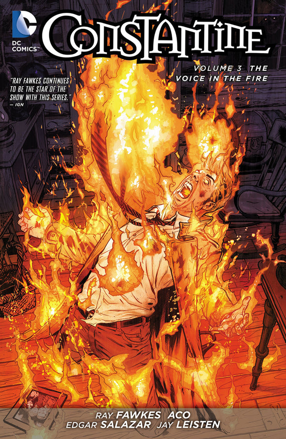 Constantine Vol 03: The Voice in the Fire TPB