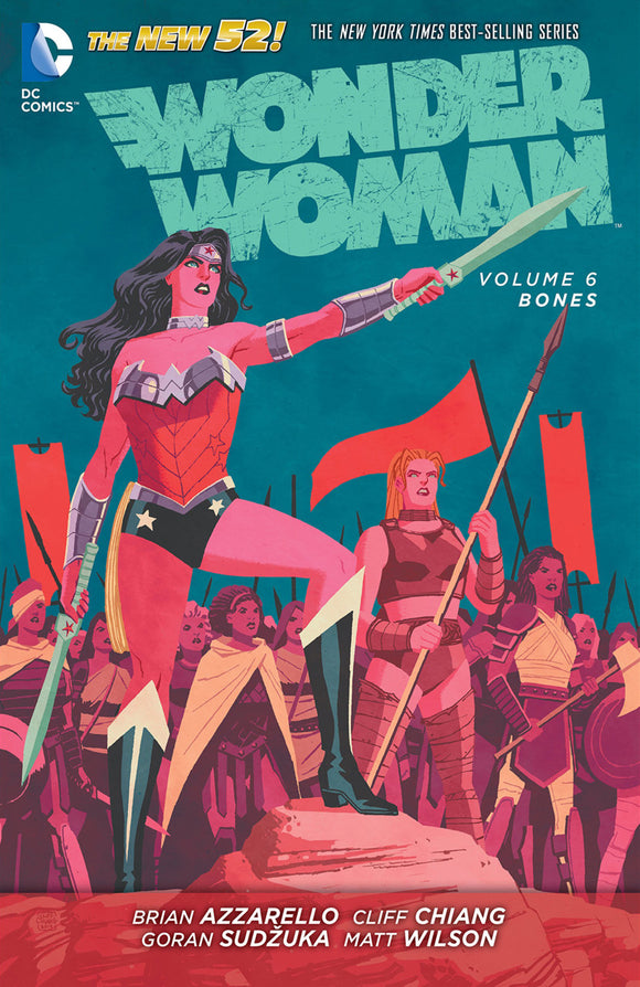Wonder Woman Vol 06: Bones TPB