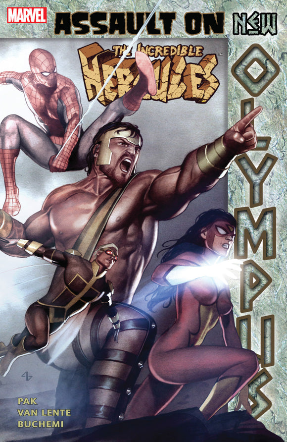 Incredible Hercules: Assault on New Olympus TPB