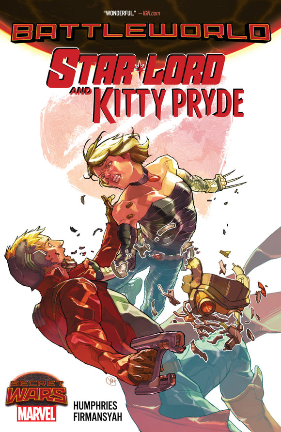 Secret Wars: Battleworld - Star Lord and Kitty Pryde TPB