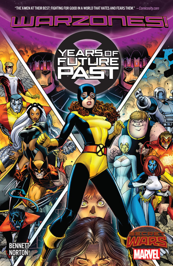 X-Men Years of Future Past: Warzones! TPB