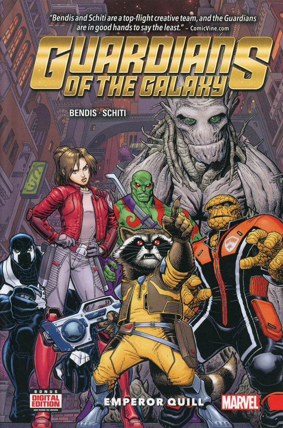 Guardians of the Galaxy Vol 01: Emperor Quill HC