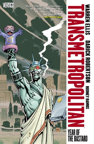 Transmetropolitan Vol 03: Year of the Bastard TPB