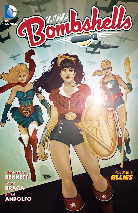 DC Comics Bombshells Vol 02: Allies TPB
