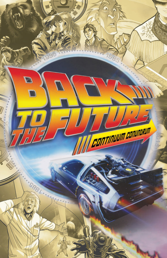 Back To The Future Vol 02: Continuum Conundrum TPB