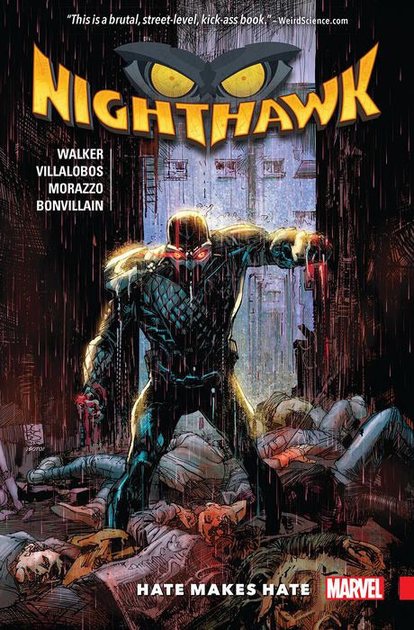 Nighthawk: Hate Makes Hate TPB