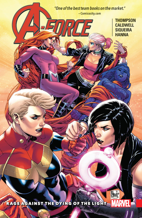 A-Force Vol 02: Rage Against the Dying of the Light TPB