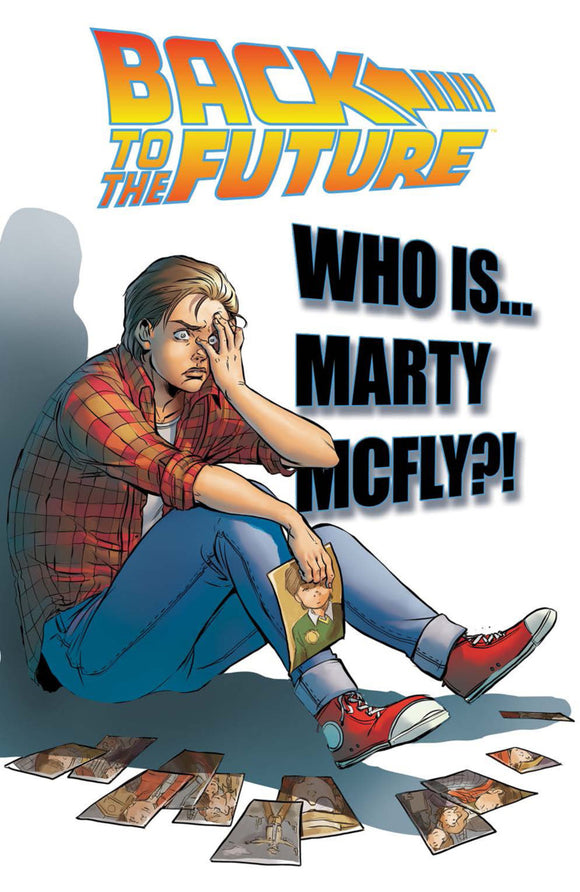 Back To The Future Vol 03: Who is Marty McFly? TPB