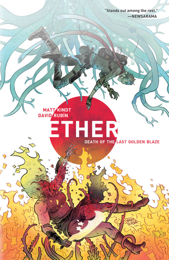 Ether Vol 01: Death of the Last Golden Blaze TPB