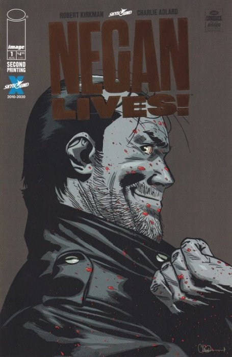 Negan Lives! (2020) #1 (2nd Print) Bronze Foil Variant
