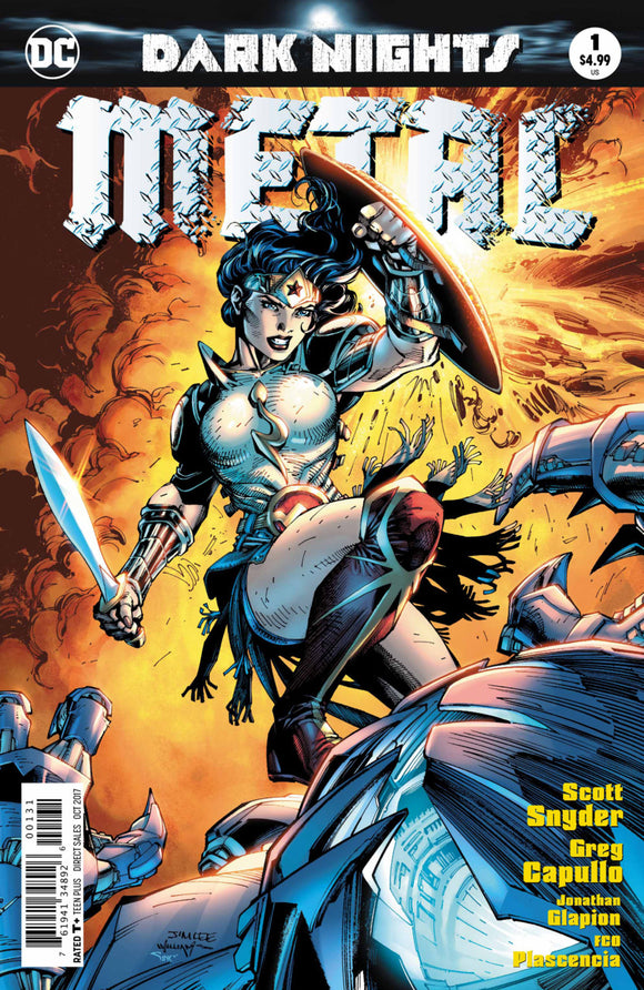 Dark Nights Metal (2017) #1 (of 6) Jim Lee Variant