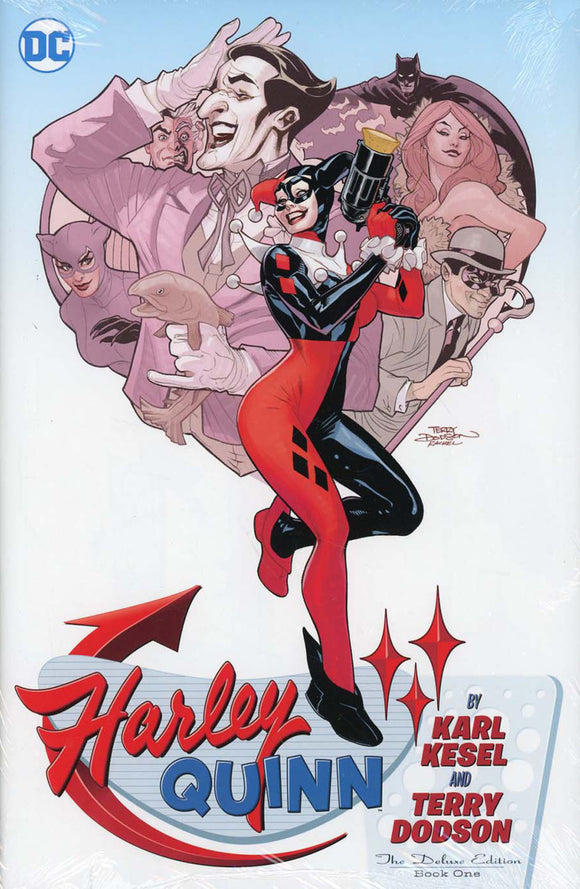 Harley Quinn by Karl Kesel & Terry Dodson Deluxe Edition Vol 01 HC