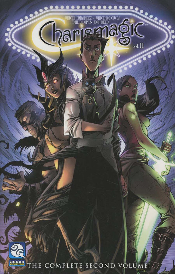 Charismagic Vol 02: The Golden Realm TPB