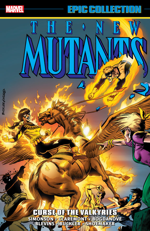 New Mutants Epic Collection: Curse of the Valkyries TPB