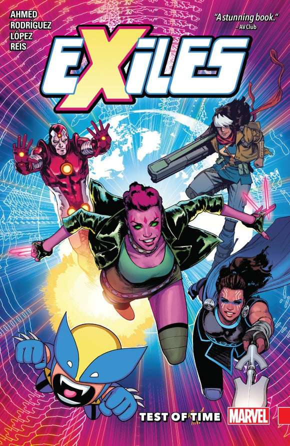 Exiles Vol 01: Test of Time TPB