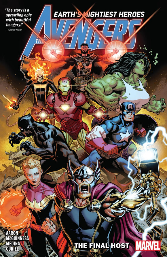 Avengers by Jason Aaron Vol 01: The Final Host TPB