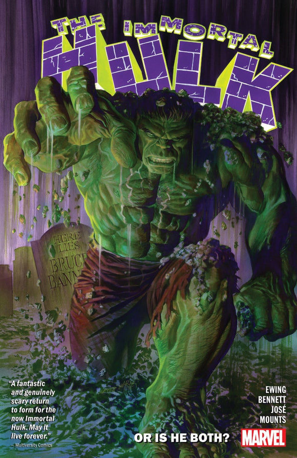 Immortal Hulk Vol 01: Or is He Both? TPB