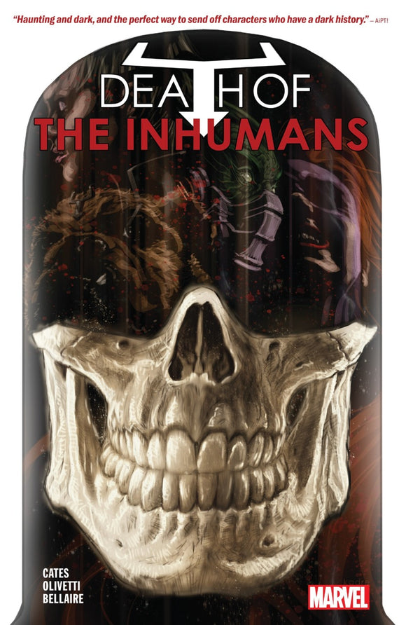 Death of The Inhumans TPB