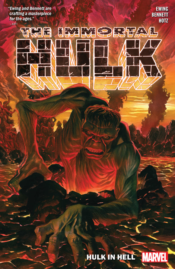 Immortal Hulk Vol 03: Hulk in Hell TPB