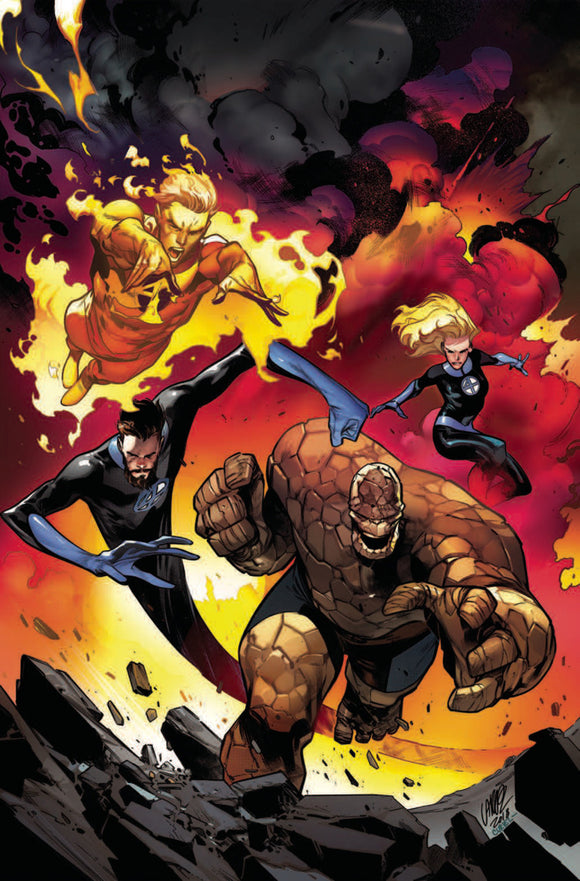 Fantastic Four (2018) #11 Pepe Larraz Virgin Variant