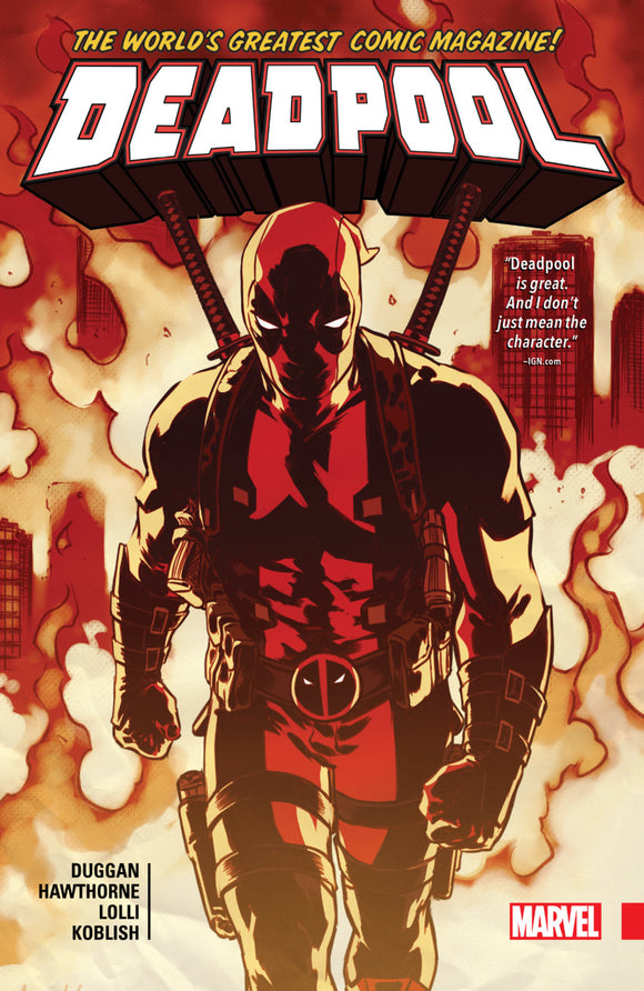 Deadpool: World's Greatest Vol 05 HC