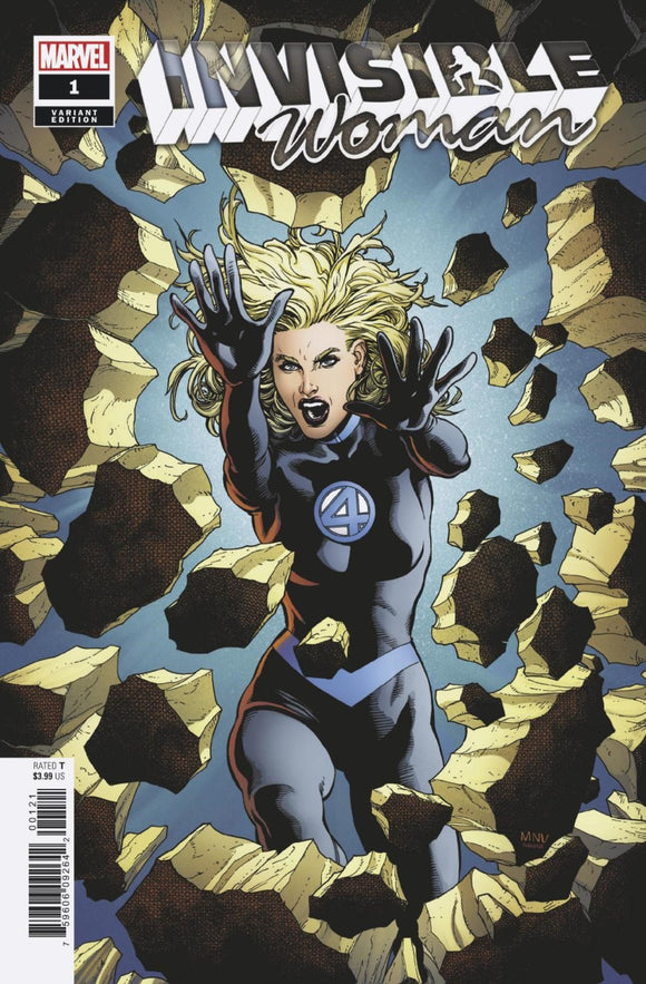 Invisible Woman (2019) #1 (of 5) Steve McNiven Variant