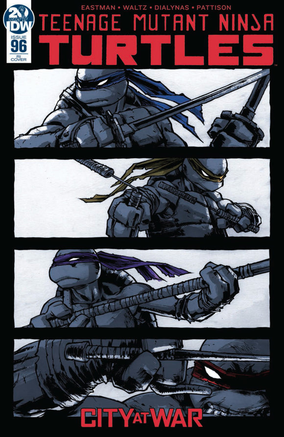 Teenage Mutant Ninja Turtles (2011) #96 Sophie Campbell Variant